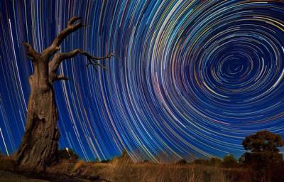 El maravilloso movimiento de las estrellas en imágenes
